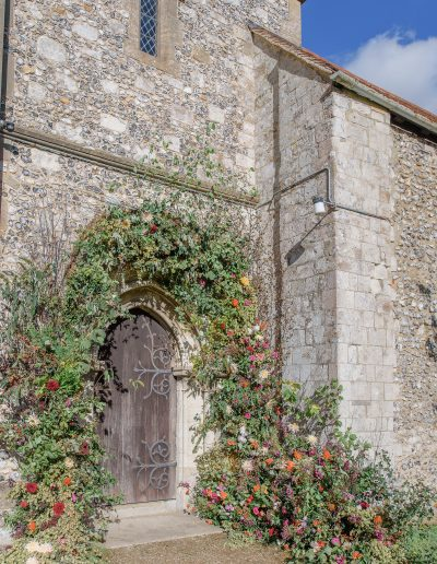 Church flower arch 3